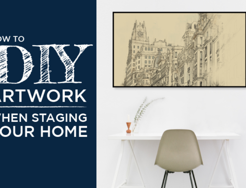 HOW TO DIY ARTWORK WHEN STAGING YOUR HOME