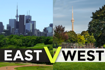 Where to invest in Toronto? The East or West?