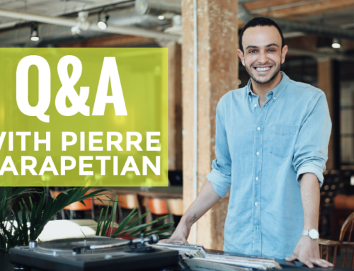 Q&A WITH PIERRE