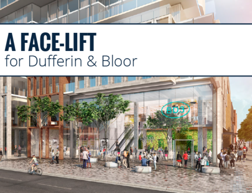 A FACE-LIFT FOR DUFFERIN AND BLOOR