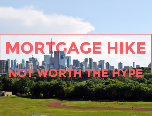 MORTGAGE HIKE NOT WORTH THE HYPE
