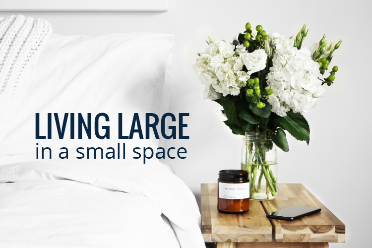 Living Large in a small space