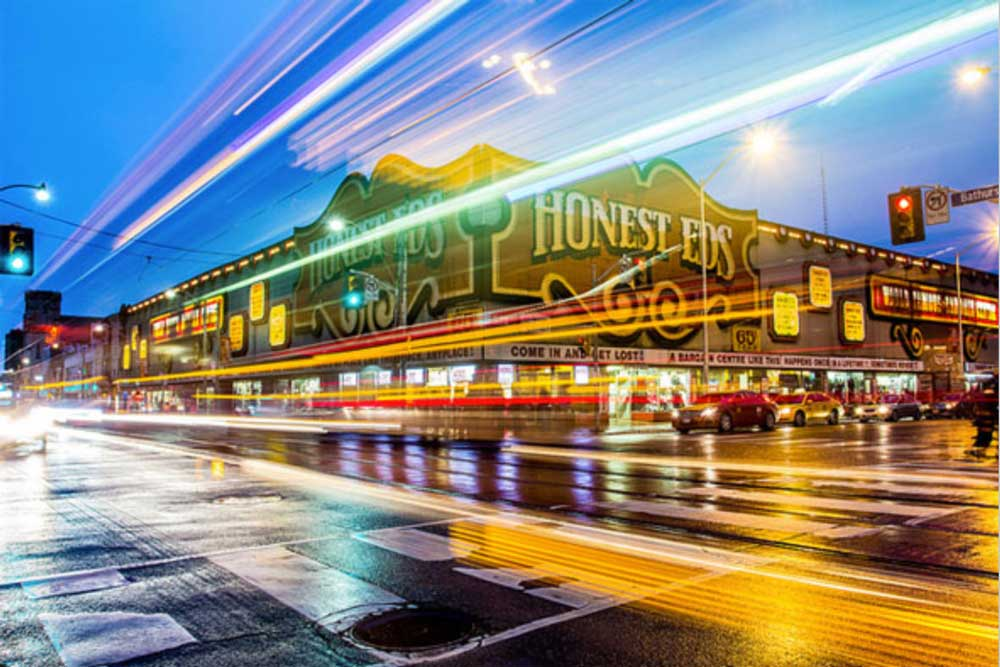 Honest Ed's in the Annex