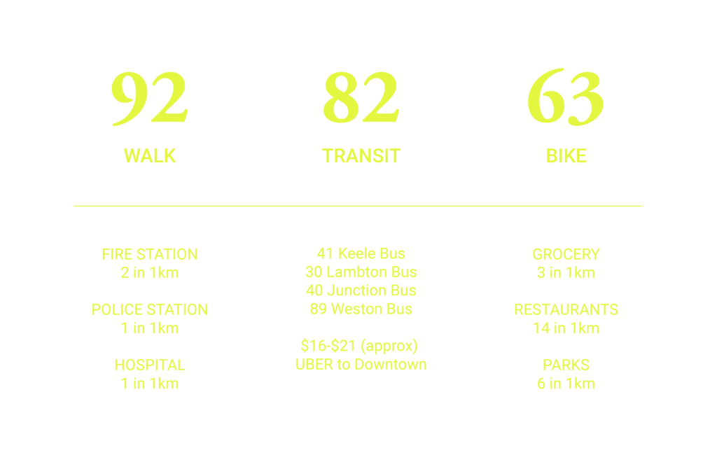 demographics stats for the junction toronto