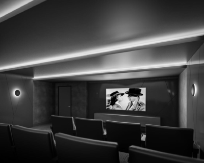 Theatre Room at time and space condos