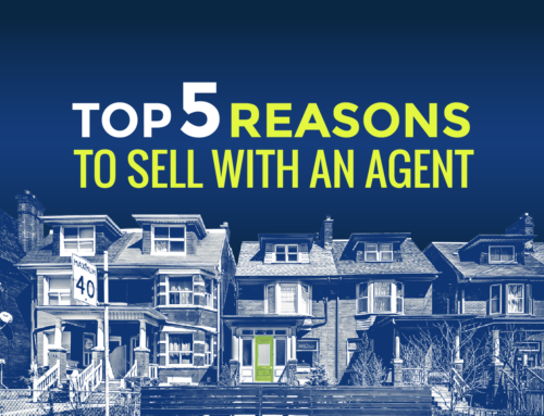 TOP 5 REASONS TO SELL YOUR HOME WITH AN AGENT