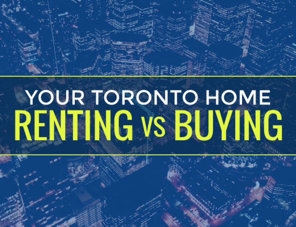 YOUR TORONTO HOME: RENTING VERSUS BUYING