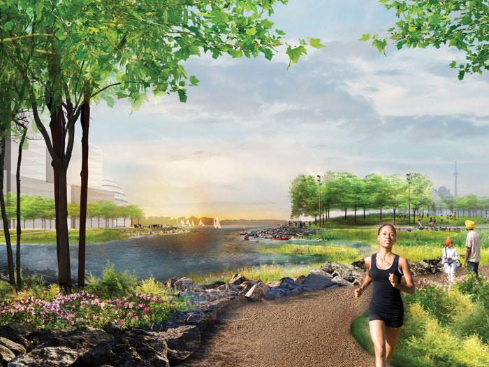 Villiers Island rendering