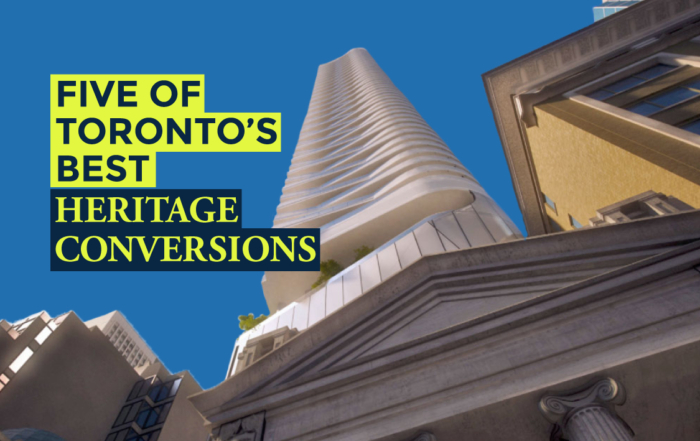 Five of Toronto's Best Heritage Conversions