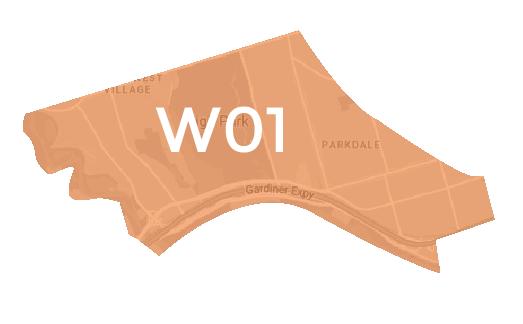 West Toronto Map