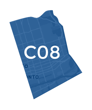 Toronto Central East Map
