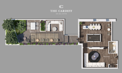 cardiff condos render amenities