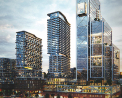 well condos rendering distant view