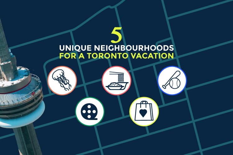 5 unique neighbourhoods toronto