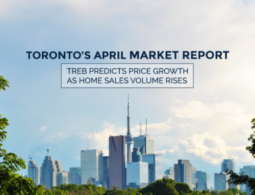 TORONTO'S REAL ESTATE MARKET REPORT: APRIL