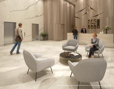 859 West Condo Reception Rendering