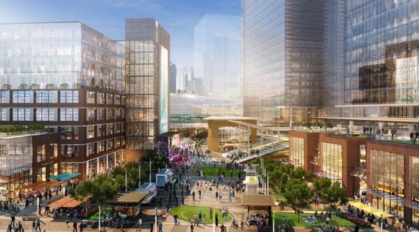 East Harbour rendering