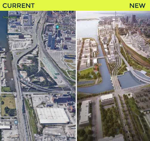 how the Gardiner Expressway will be rerouted