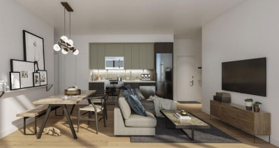 interior view of Corktown's Home Power Condos
