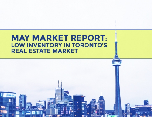 TORONTO'S REAL ESTATE MARKET STATS: MAY