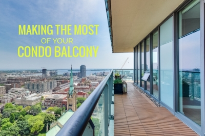 making the most of your condo balcony