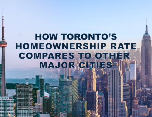 HOW TORONTO'S HOMEOWNERSHIP RATE COMPARES TO OTHER MAJOR CITIES