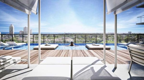 pool on Empire Phoenix Condos