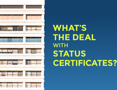 WHAT'S THE DEAL WITH STATUS CERTIFICATES?