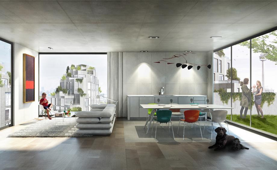 Bjarke Ingels' King West interior