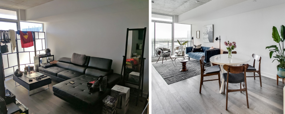 Before & After Images of Carlaw Avenue Condos in Toronto