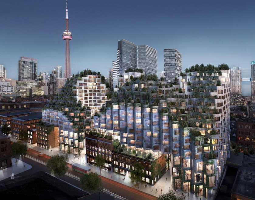 Bjarke Ingels' King West Development Toronto