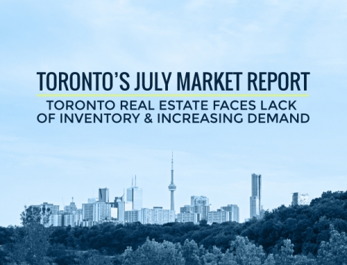 TORONTO'S REAL ESTATE MARKET REPORT: JULY