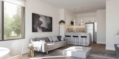 the way urban townhomes render interior