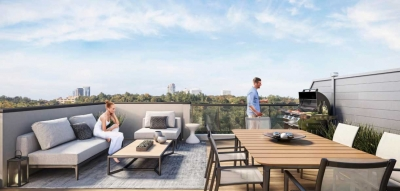 the way urban townhomes rooftop render