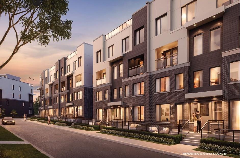 the way urban townhomes render