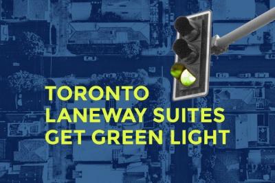 toronto laneway suites get green light