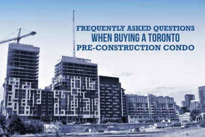 FAQ when buying toronto pre-construction condo
