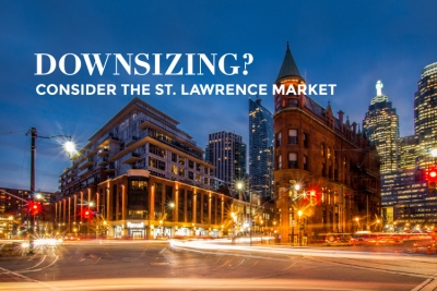 downsize in the st. lawrence market flat iron building