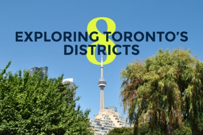 toronto's eight districts