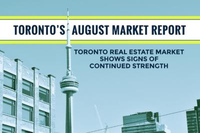 Toronto's August Market Report