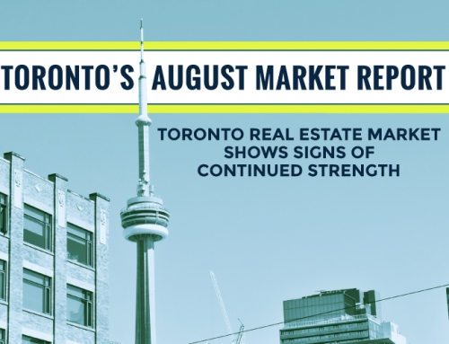 TORONTO'S REAL ESTATE MARKET REPORT: AUGUST