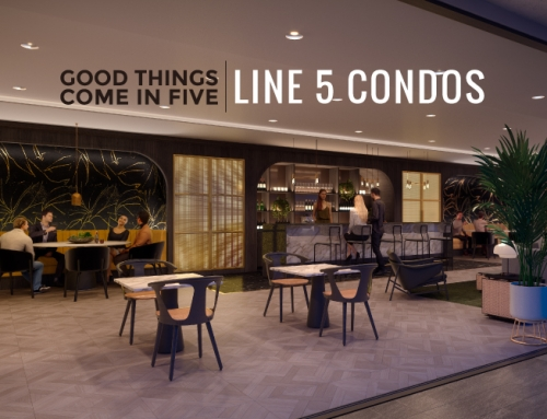 GOOD THINGS COME IN FIVE: LINE 5 CONDOS