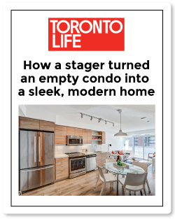 Top Toronto Real Estate Agent | Toronto Life article on staging your home