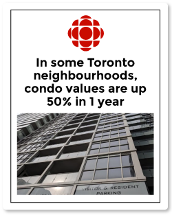 Top Toronto Real Estate Agent | CBC article on Toronto neighbourhood condo values