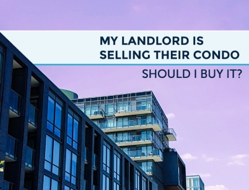 MY LANDLORD IS SELLING THEIR CONDO — SHOULD I BUY IT?