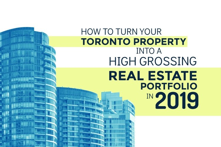 Turn Your Toronto Property Into High Grossing Real Estate Portfolio Graphic | Pierre Carapetian