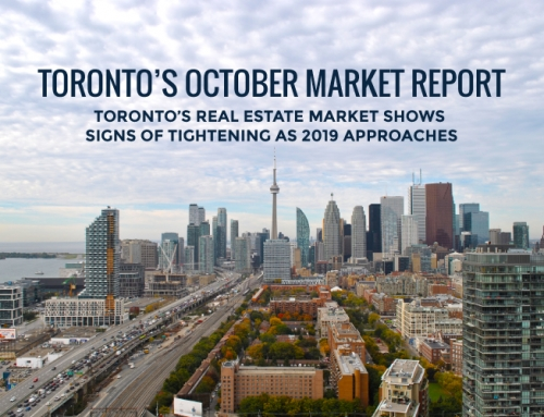 TORONTO'S REAL ESTATE MARKET REPORT: OCTOBER