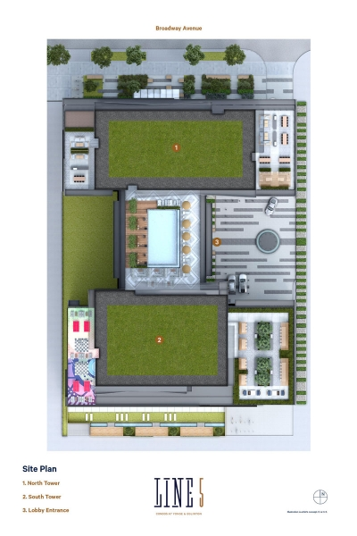 line 5 condos site plan