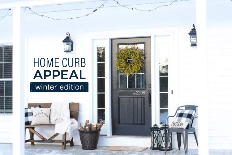 Home Curb Appeal Winter Edition Blog Feature