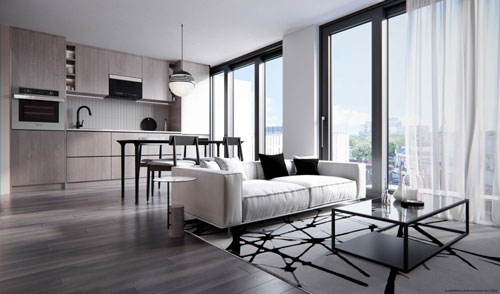 Rush Condos Toronto Floor Plan Design